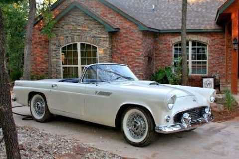 true dream 1955 Ford Thunderbird convertible for sale