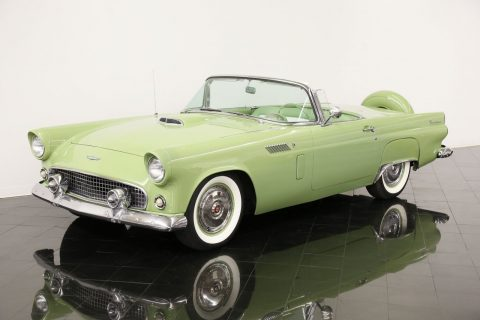 well optioned 1956 Ford Thunderbird Convertible for sale