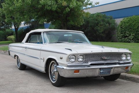 1 of 10 produced 1963 Ford Galaxie 500 XL convertible for sale