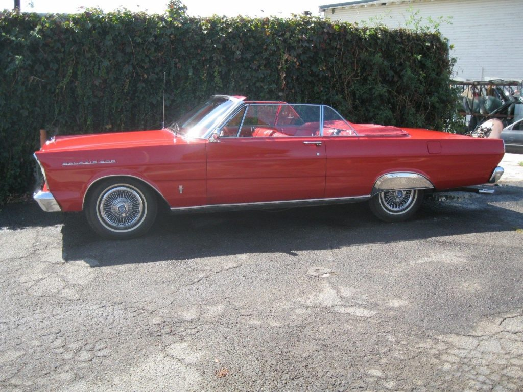All Original 1965 Ford Galaxie Convertible