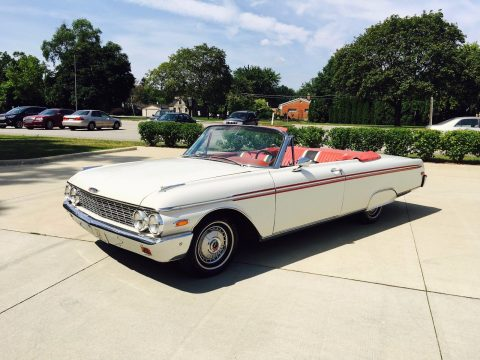 classic 1962 Ford Galaxie Sunliner convertible for sale