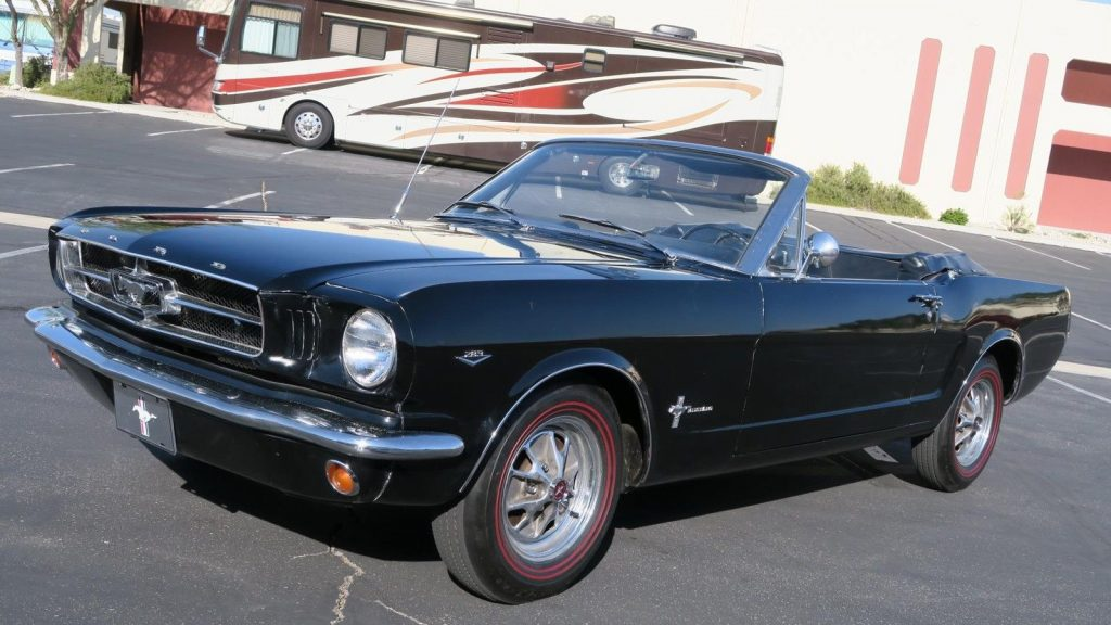 great driver 1965 Ford Mustang Convertible