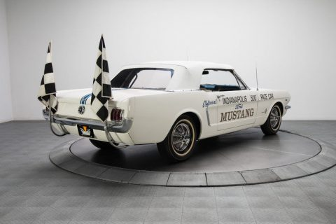 one of a kind 1964 Ford Mustang Pace Car convertible for sale