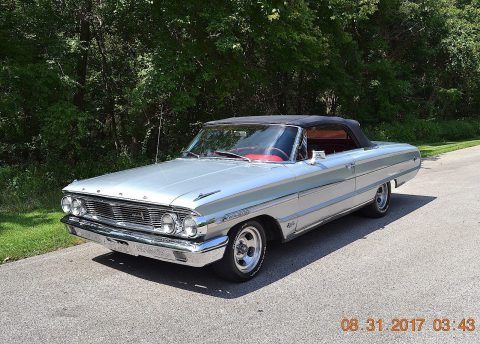 original and loaded 1964 Ford Galaxie 500 XL convertible for sale