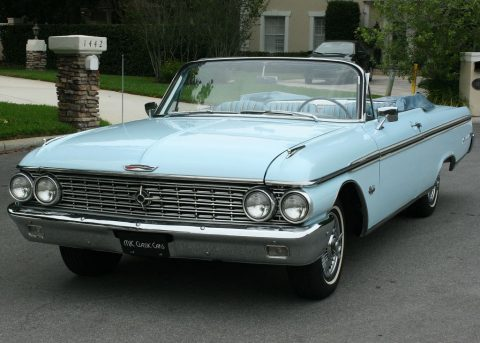 original survivor 1962 Ford Galaxie Xl500 Convertible for sale
