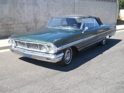 original unmolested 1964 Ford Galaxie convertible for sale
