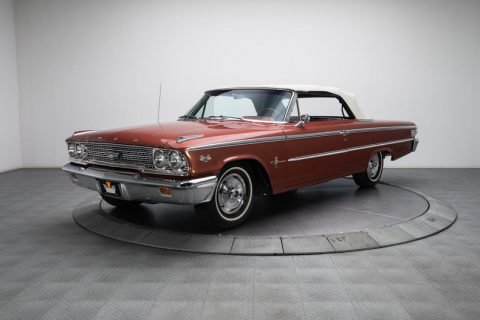 professionally restored 1963 Ford Galaxie 500 XL Convertible for sale