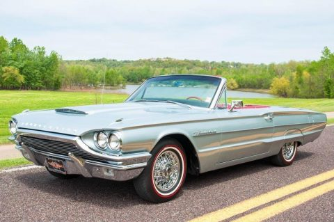 professionally restored 1964 Ford Thunderbird Convertible for sale