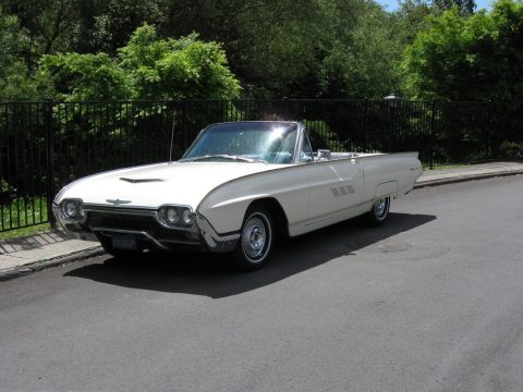 restored 1963 Ford Thunderbird convertible for sale