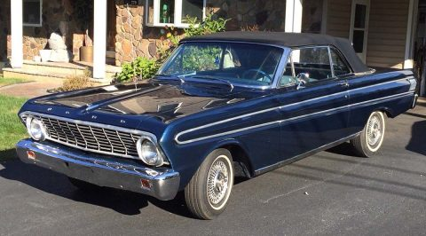 restored 1964 Ford Falcon convertible for sale