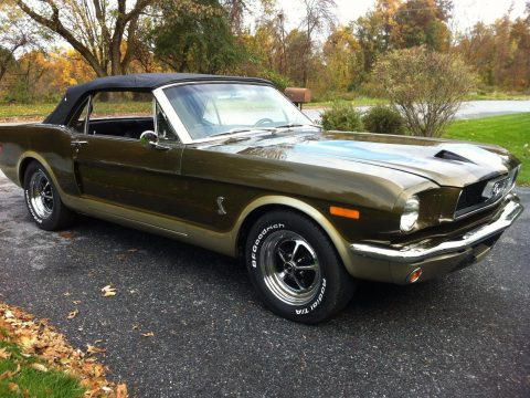 restored barn find 1964 Ford Mustang convertible for sale
