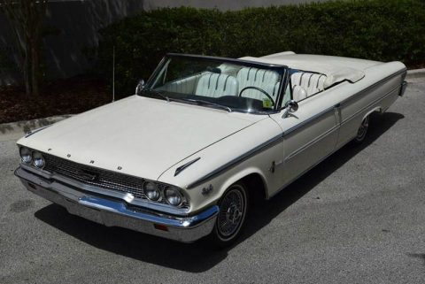 rust free 1963 Ford Galaxie Convertible for sale
