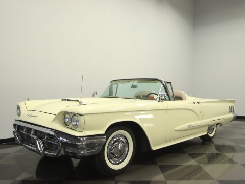 sharp 1960 Ford Thunderbird convertible for sale