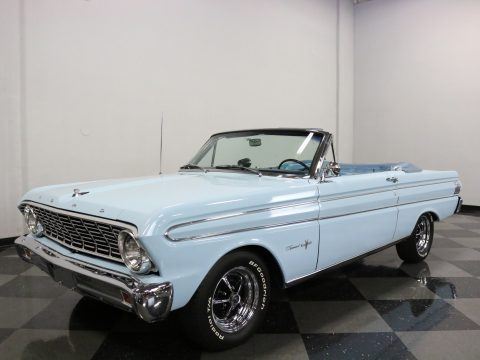 shiny and clean 1964 Ford Falcon convertible for sale
