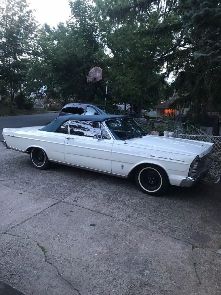 solid 1965 Ford Galaxie Convertible
