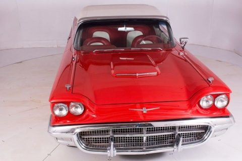 spectacular 1960 Ford Thunderbird convertible for sale