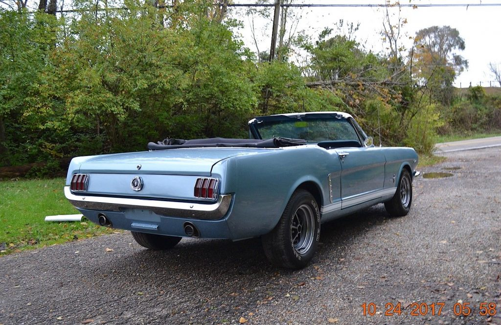 Straight Beautiful 1965 Ford Mustang Convertible