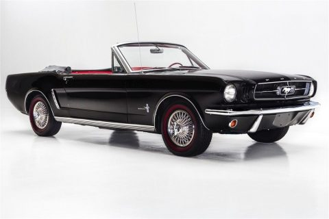 Striking 1965 Ford Mustang 289 Convertible for sale