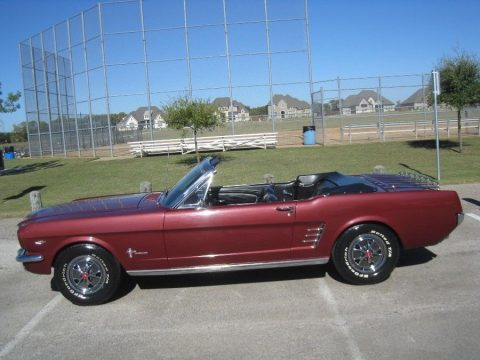 clean 1966 Ford Mustang Convertible for sale