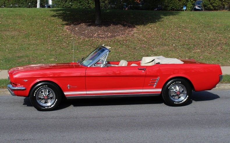 professionally restored 1966 Ford Mustang convertible
