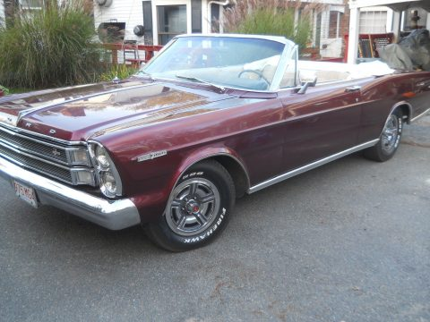 rare 1966 Ford Galaxie convertible for sale