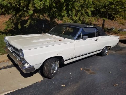 repainted 1966 Ford Fairlane convertible for sale