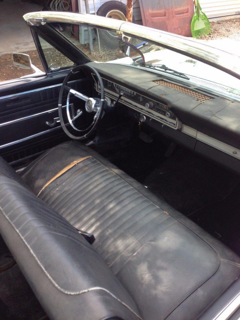 repainted 1966 Ford Fairlane convertible