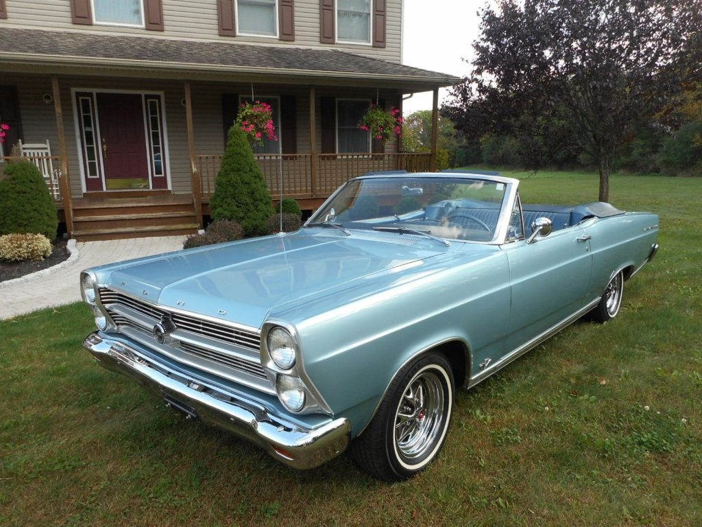 restored 1966 Ford Fairlane 500 convertible