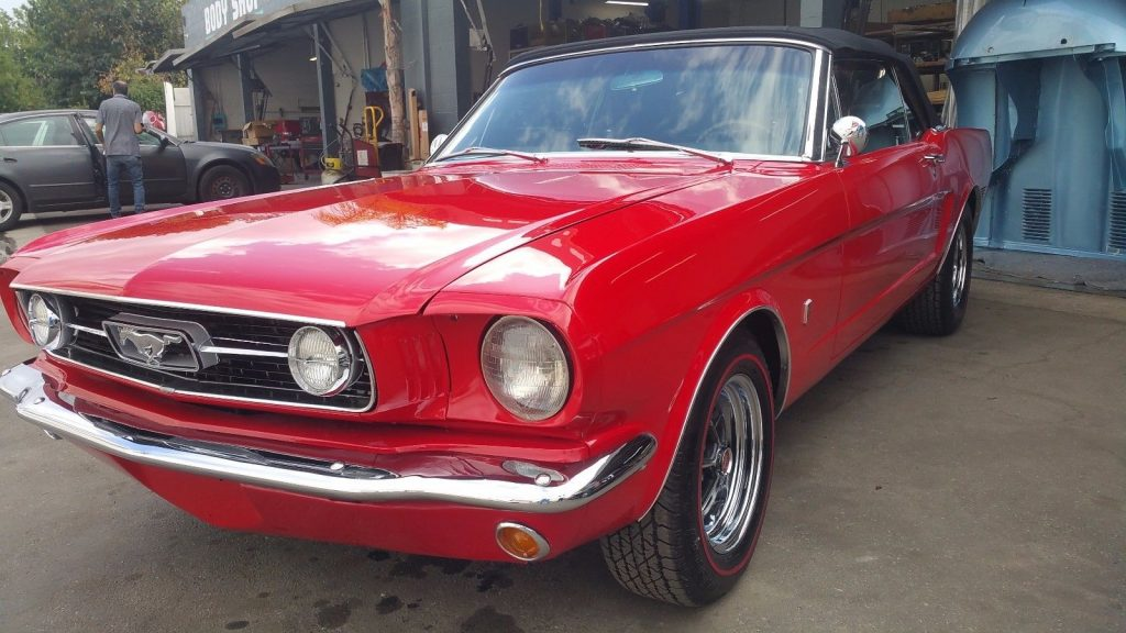 restored 1966 Ford Mustang Convertible
