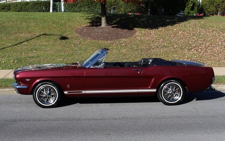 restored 1966 Ford Mustang GT convertible