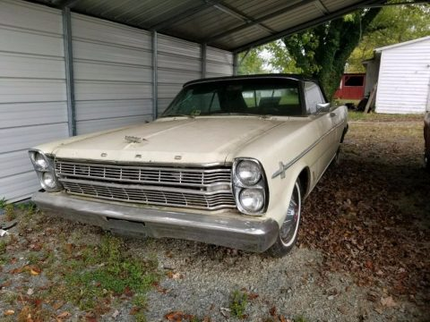 running engine 1966 Ford Galaxie convertible for sale