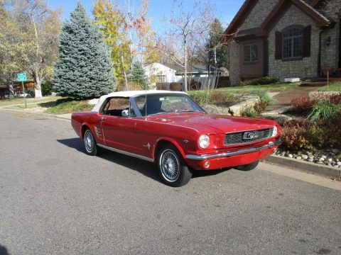 rust free 1966 Ford Mustang convertible for sale