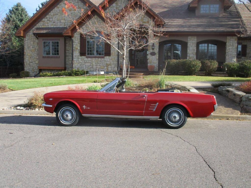 rust free 1966 Ford Mustang convertible