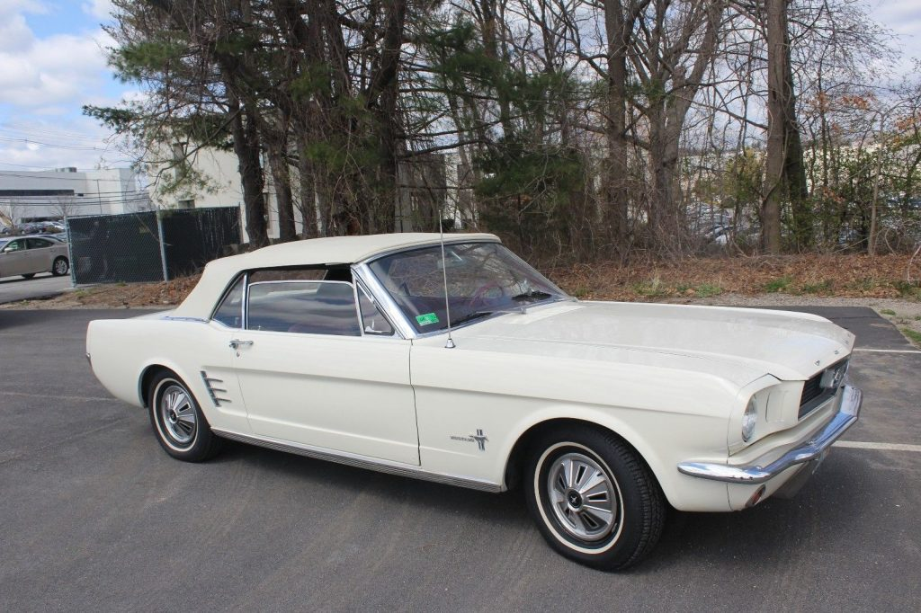 sweet 1966 Ford Mustang Convertible