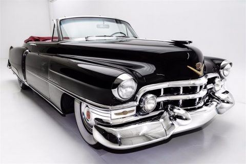 carefully restored 1952 Cadillac Series 62 Convertible for sale