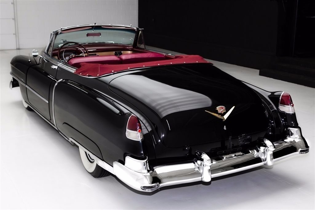 carefully restored 1952 Cadillac Series 62 Convertible
