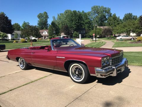 Extremely clean 1975 Buick LeSabre convertible for sale
