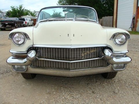 needs work 1956 Cadillac Eldorado Biarritz Convertible for sale