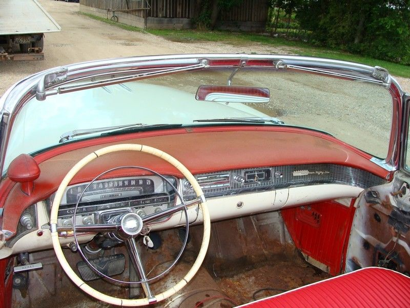 needs work 1956 Cadillac Eldorado Biarritz Convertible
