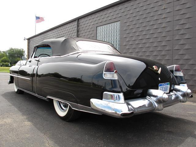 older repaint 1953 Cadillac Series 62 Convertible