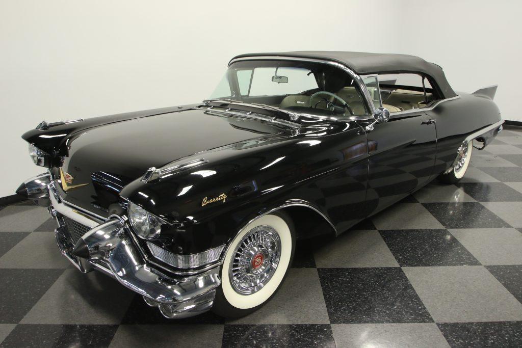 perfect restoration 1957 Cadillac Eldorado Biarritz Convertible