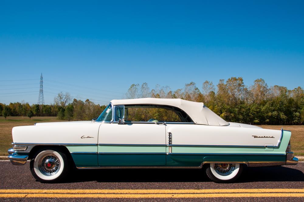 rare 1955 Packard Caribbean Convertible