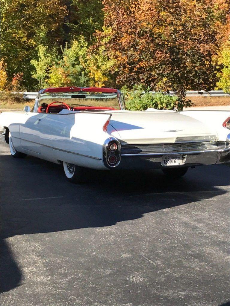 converted brakes 1960 Cadillac Series 62 Convertible