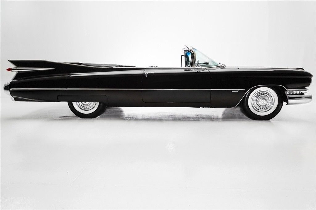 Frame Off restored 1959 Cadillac Series 62 Convertible