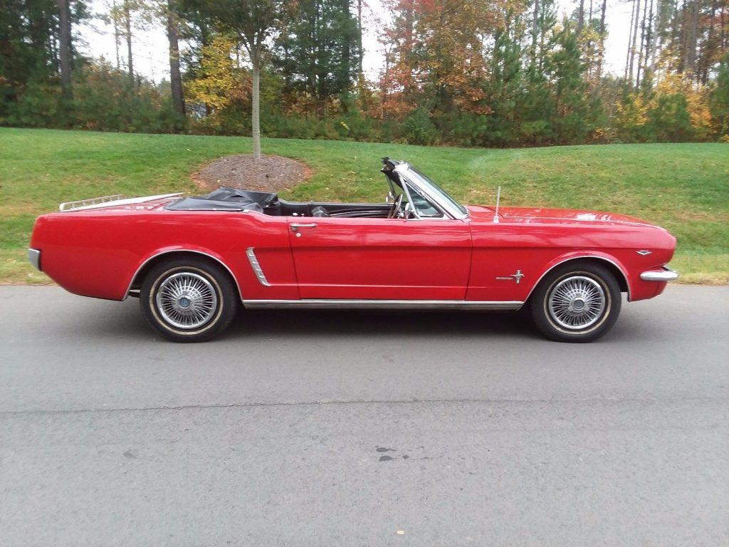 good condition 1965 Ford Mustang Convertible