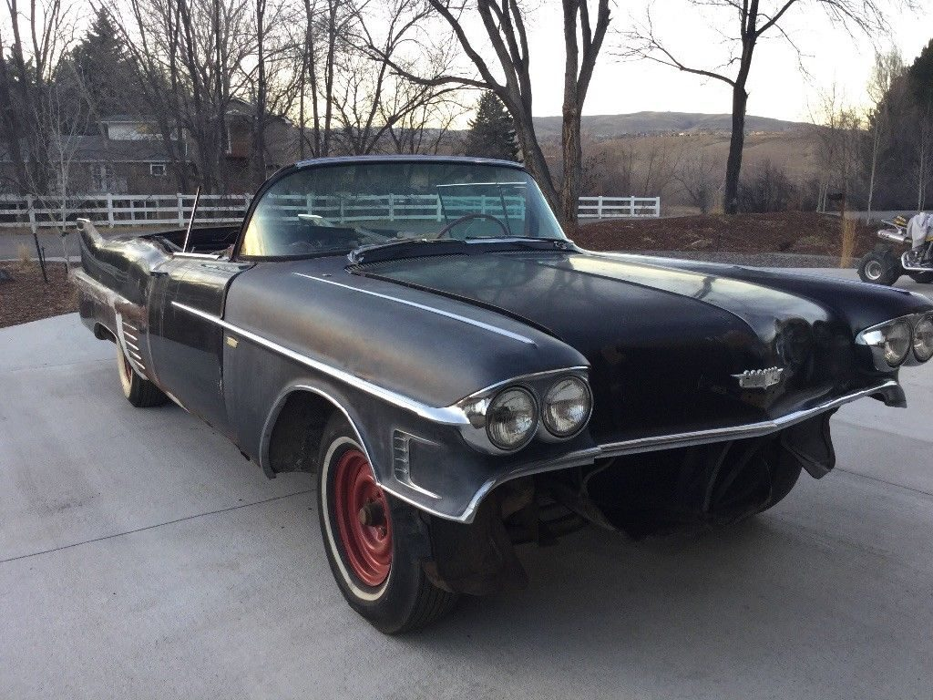 needs work 1958 Cadillac Series 62 Convertible