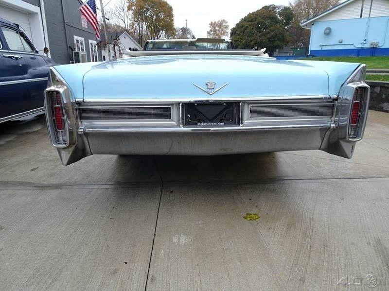 original survivor 1965 Cadillac Deville Deville Convertible