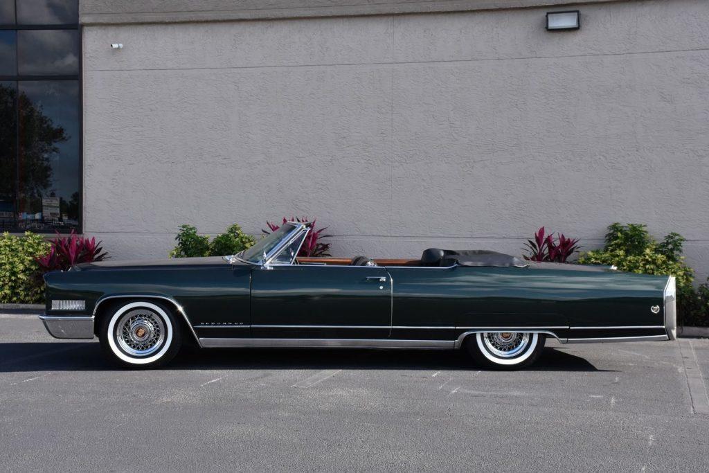 pinnacle of luxury 1966 Cadillac Eldorado Convertible