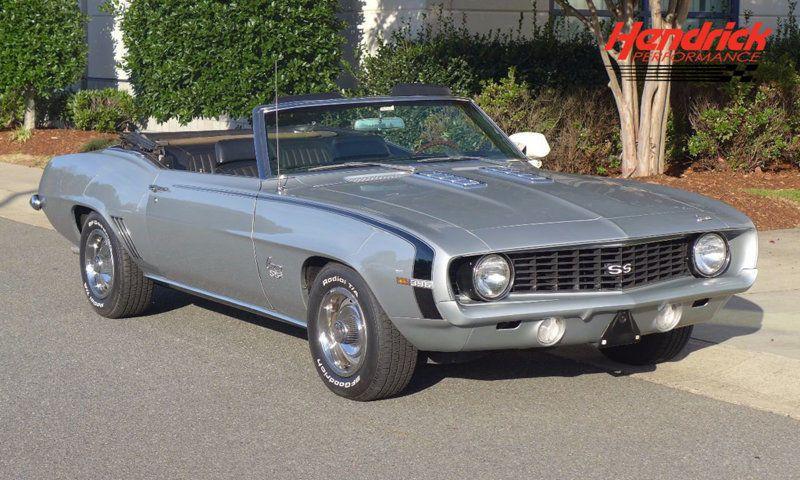 rare 1969 Chevrolet Camaro SS Convertible