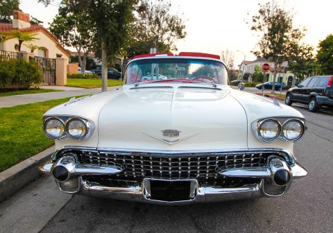 real classic 1958 Cadillac Eldorado Convertible for sale